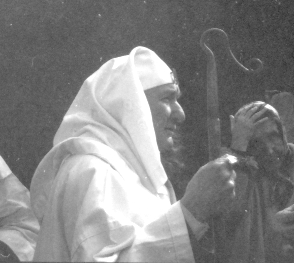 Nuinn after a ceremony c.1970