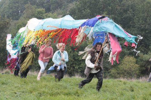 The Warrior's Call Ritual Glastonbury 28 September 2013. Photo Carlton Campbell