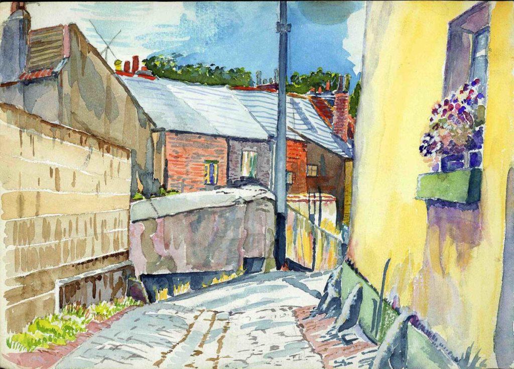Dawlish, Devon, Watercolour Ross Nichols