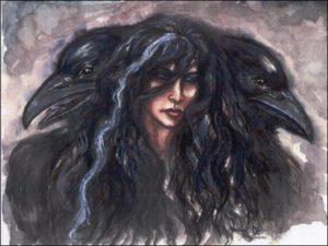 goddesses Morrigan