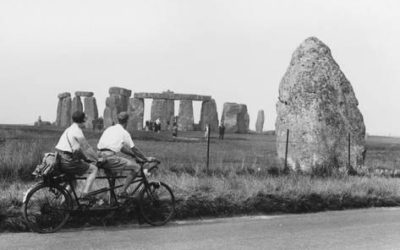 Bicycling Druids